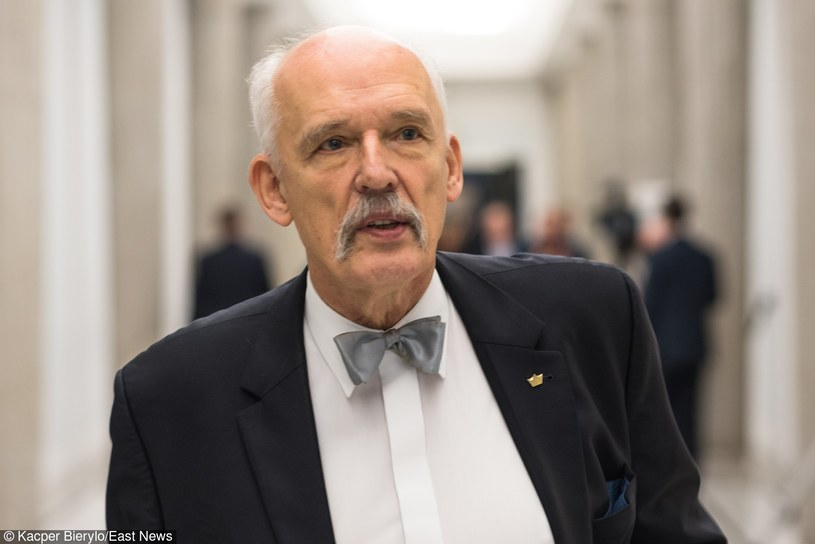 Janusz Korwin-Mikke /Kacper Bierylo /East News