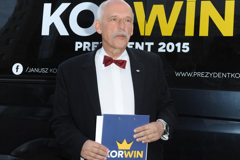 Janusz Korwin-Mikke /Piotr Andrzejczak /MWMedia