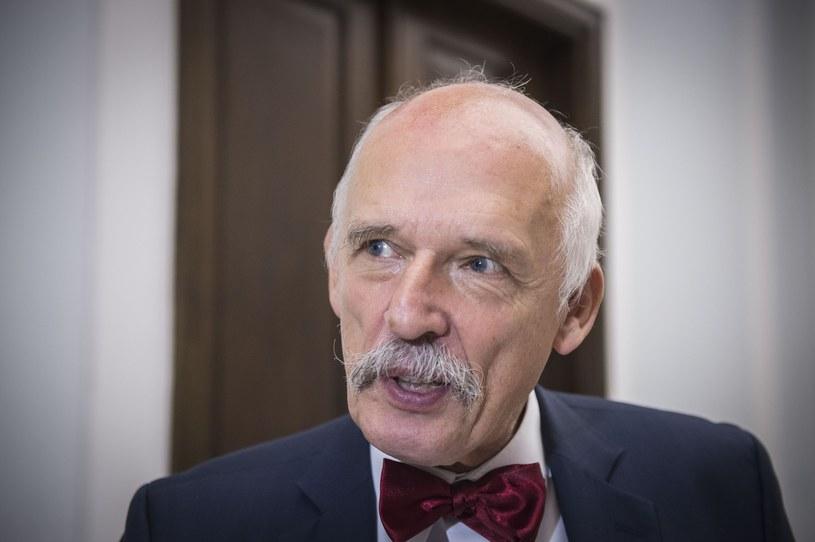 Janusz Korwin-Mikke /Jacek Domiński /Reporter