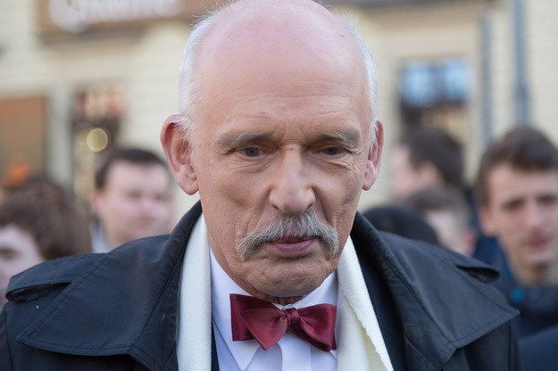 Janusz Korwin-Mikke /Łukasz Kaniewski /Reporter