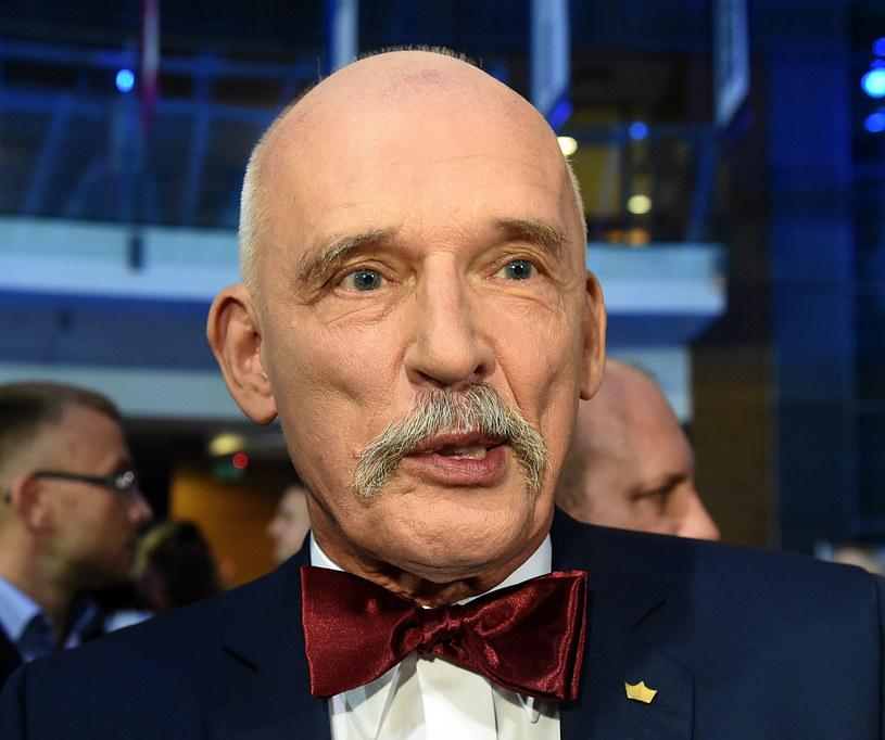 Janusz Korwin-Mikke /Janek Skarżyński /AFP
