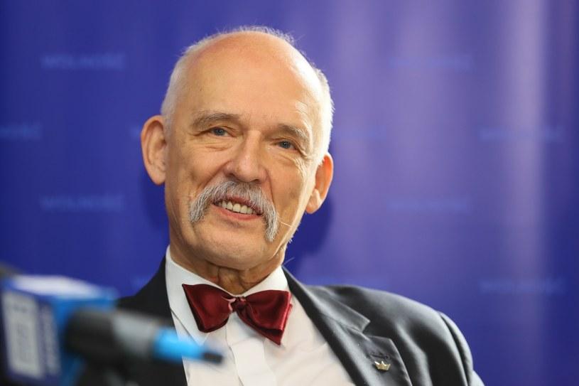 Janusz Korwin-Mikke /ROBERT STACHNIK/REPORTER /East News