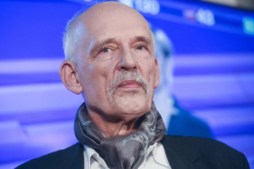 Janusz Korwin-Mikke /Mieczyslaw Wlodarski /Reporter