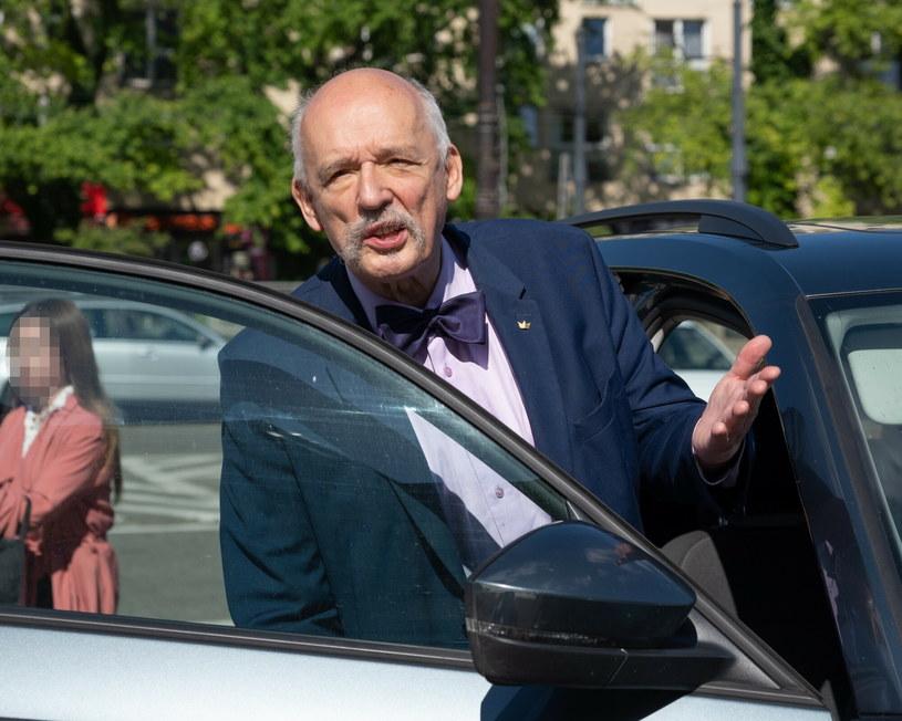 Janusz Korwin-Mikke /Stanislaw Rozycki/REPORTER /Reporter