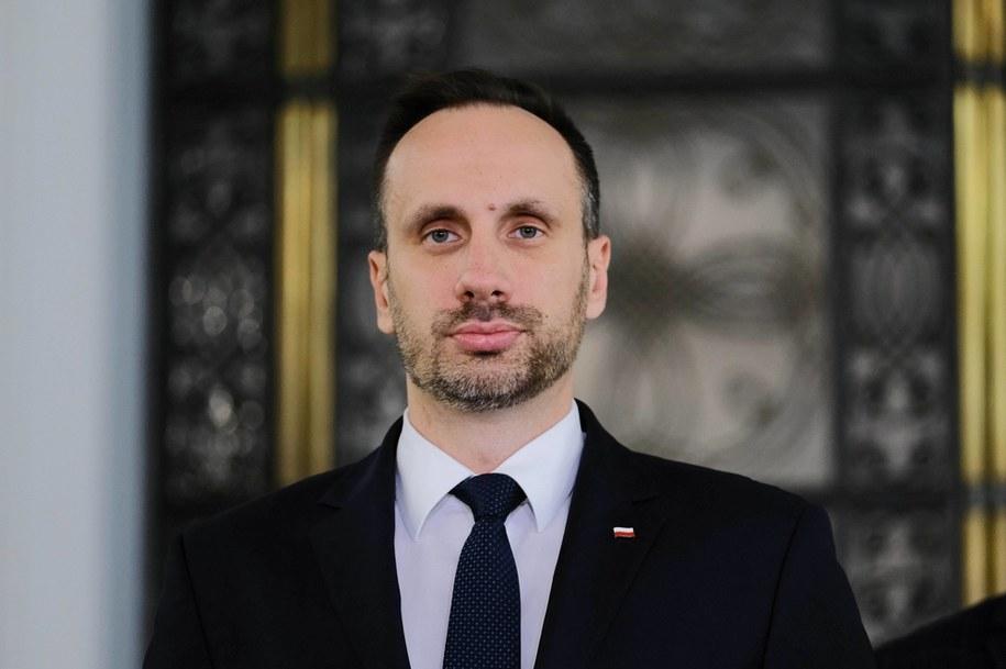 Janusz Kowalski, sekretarz stanu w Ministerstwie Aktywów Państwowych /Mateusz Marek /PAP