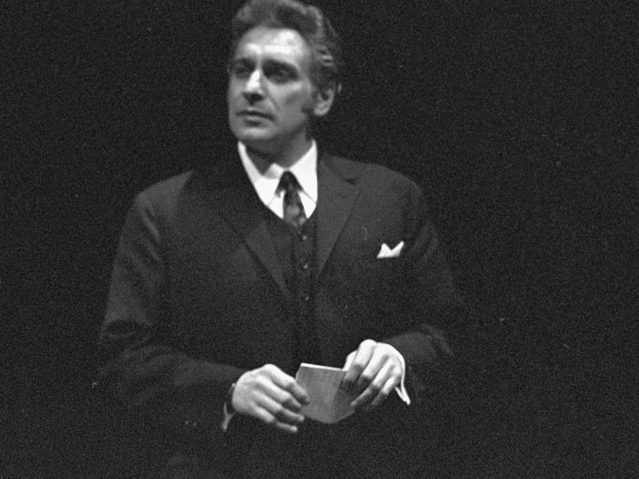 Janusz Kubicki, zdj. z 1969 roku / Witold Rozmysłowicz   PAP/CAF /PAP