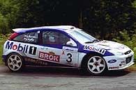 Janusz Kulig - Ford Focus WRC /INTERIA.PL