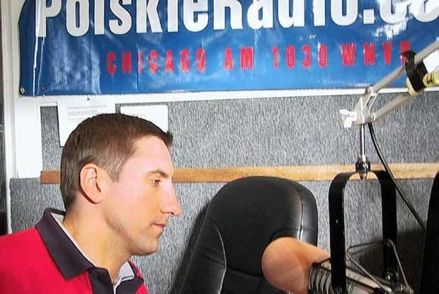 Janusz Kulig w Polskim Radio Chicago 1030 AM / kliknij /INTERIA.PL