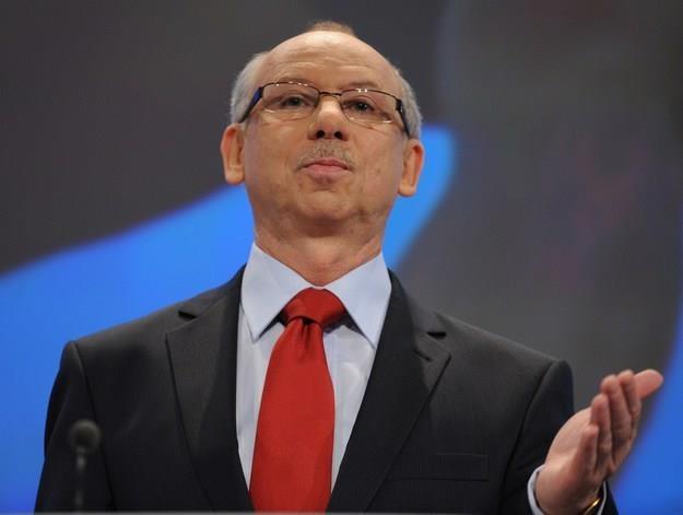 Janusz Lewandowski, europoseł PO /AFP