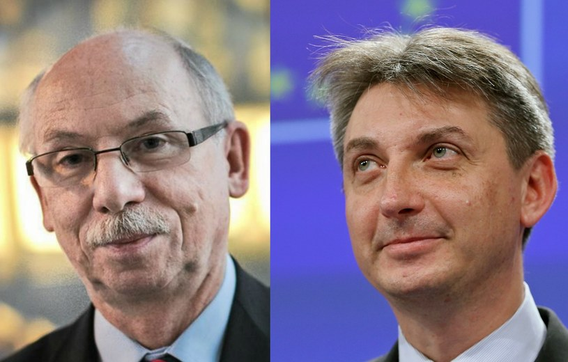 Janusz Lewandowski i Jacek Dominik /Fot. Dominik Werner, REUTERS/Francois Lenoir /