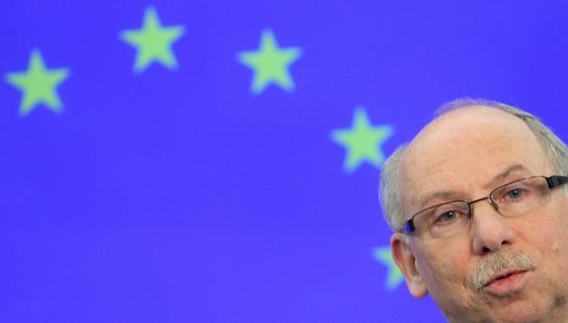 Janusz Lewandowski, unijny komisarz ds. budżetu. Fot. Jacek Waszkiewicz /Reporter