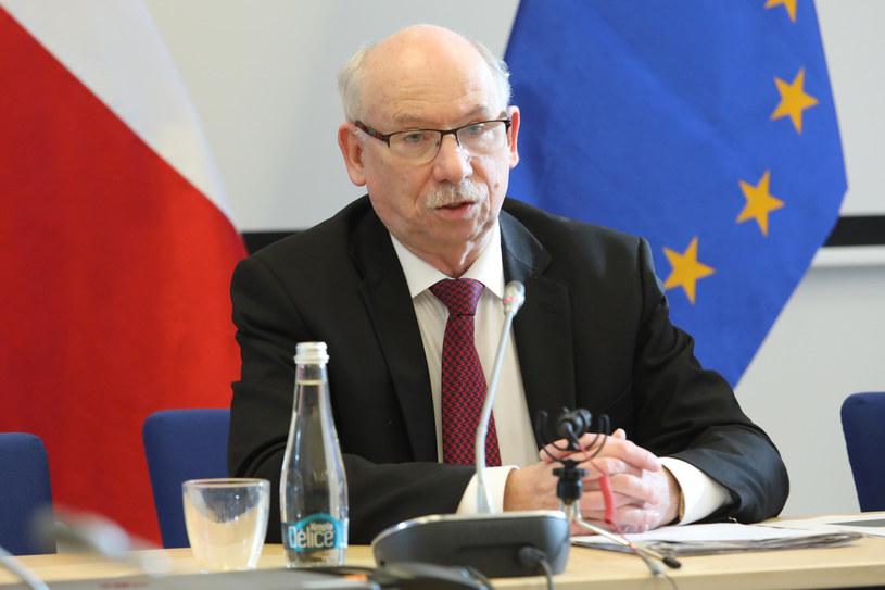 Janusz Lewandowski /Fot. Tomasz Jastrzębowski/REPORTER /Reporter