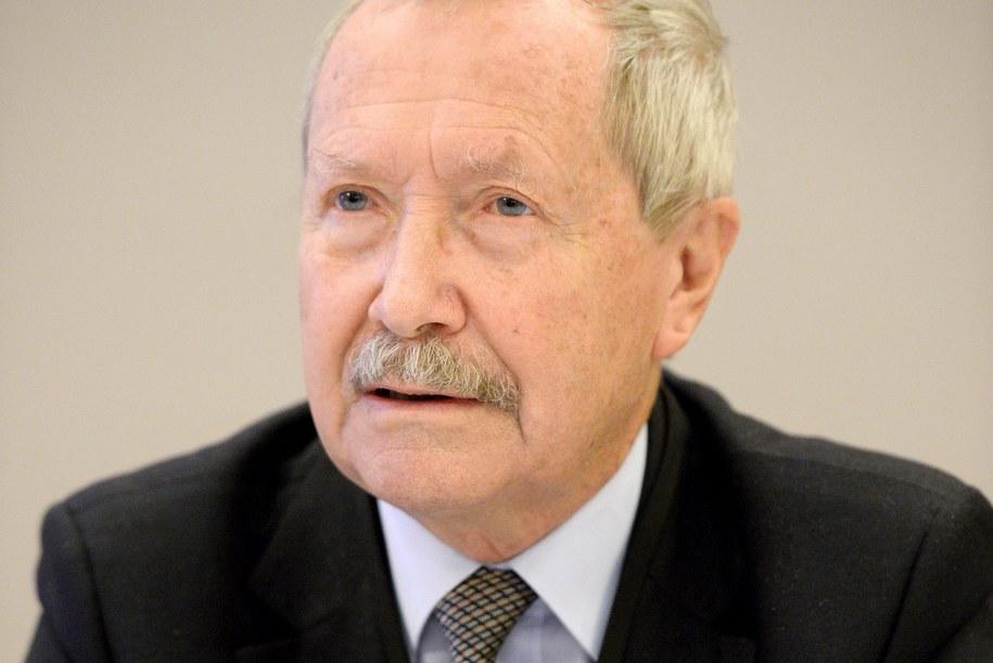 Janusz Onyszkiewicz /Janusz Onyszkiewicz /PAP