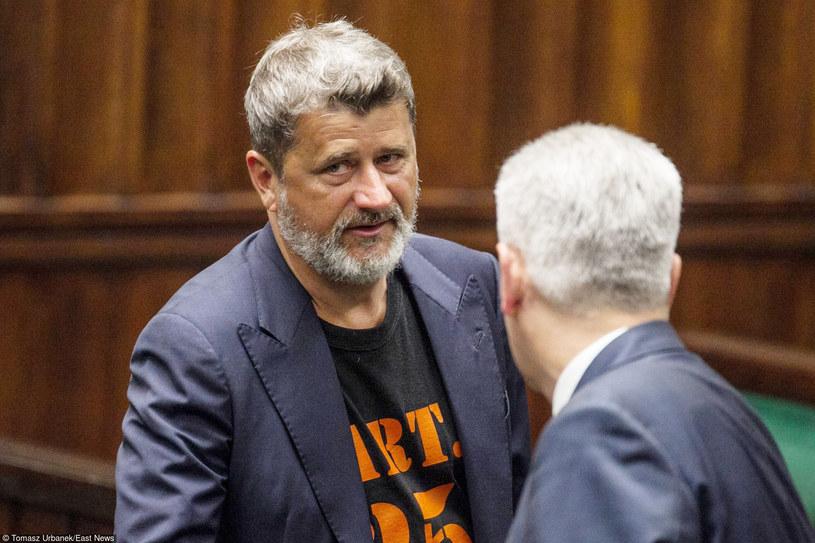 Janusz Palikot w Sejmie /Tomasz Urbanek /East News