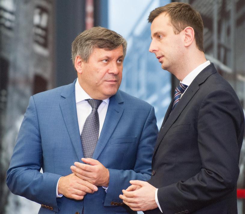 Janusz Piechociński i Władysław Kosiniak-Kamysz w 2015 roku /ANDRZEJ ZBRANIECKI /East News