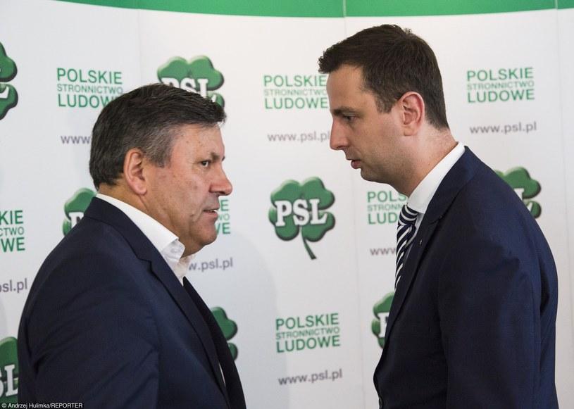 Janusz Piechociński i Władysław Kosiniak-Kamysz /Andrzej Hulimka/Reporter /East News