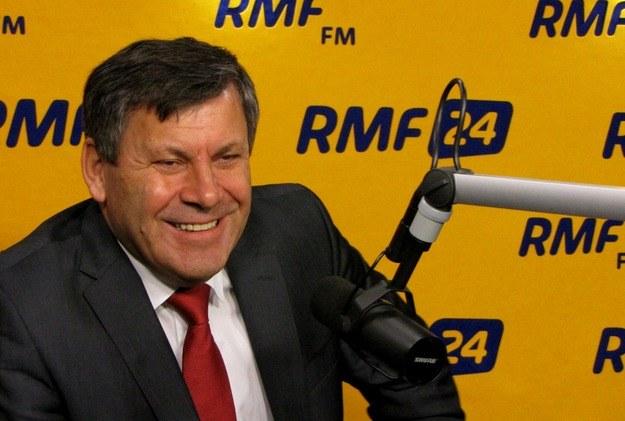 Janusz Piechociński w studiu RMF FM /RMF