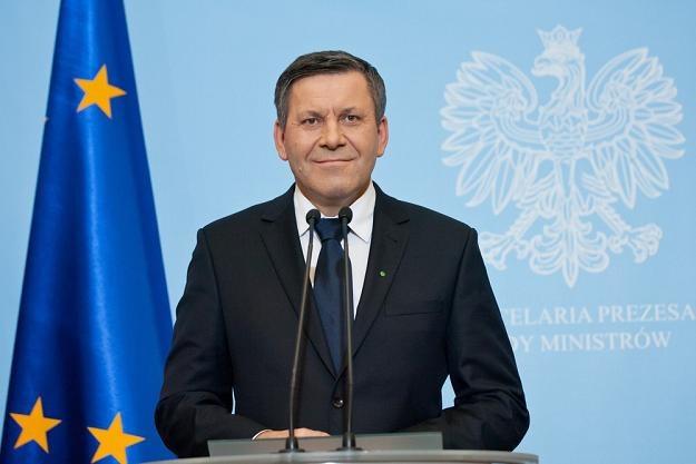 Janusz Piechociński, wicepremier i minister gospodarki. Fot Krystian Maj /Reporter