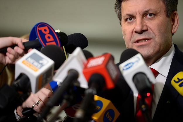 Janusz Piechociński, wicepremier i minister gospodarki /PAP