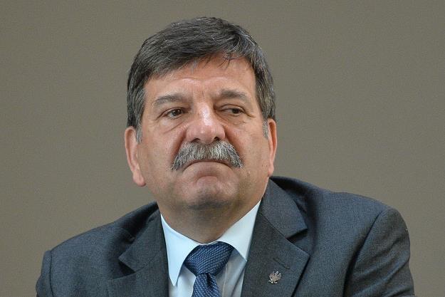 Janusz Śniadek. Fot. Łukasz Dejnarowicz /FORUM