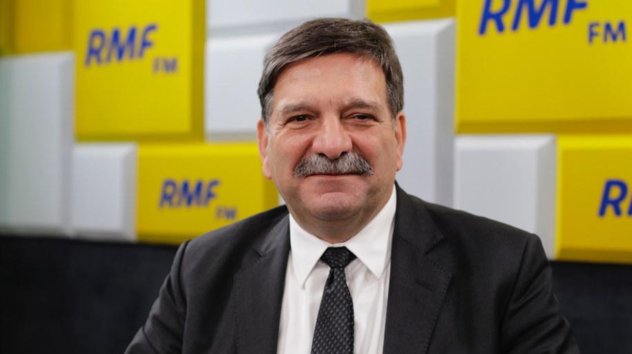 Janusz Śniadek w studiu RMF FM /Karolina Bereza /RMF FM