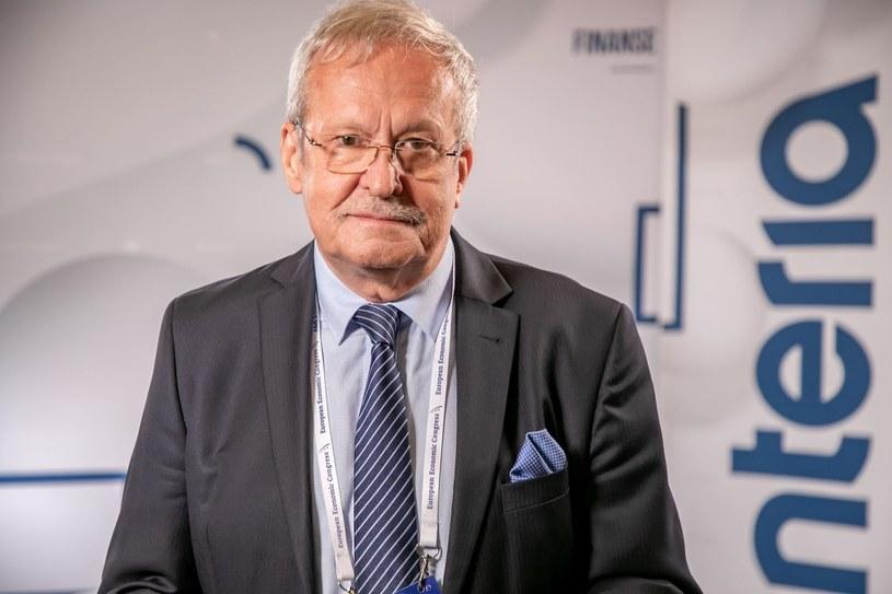 Janusz Steinhoff, były wicepremier i minister gospodarki /Fot. Ireneusz Rek /INTERIA.PL