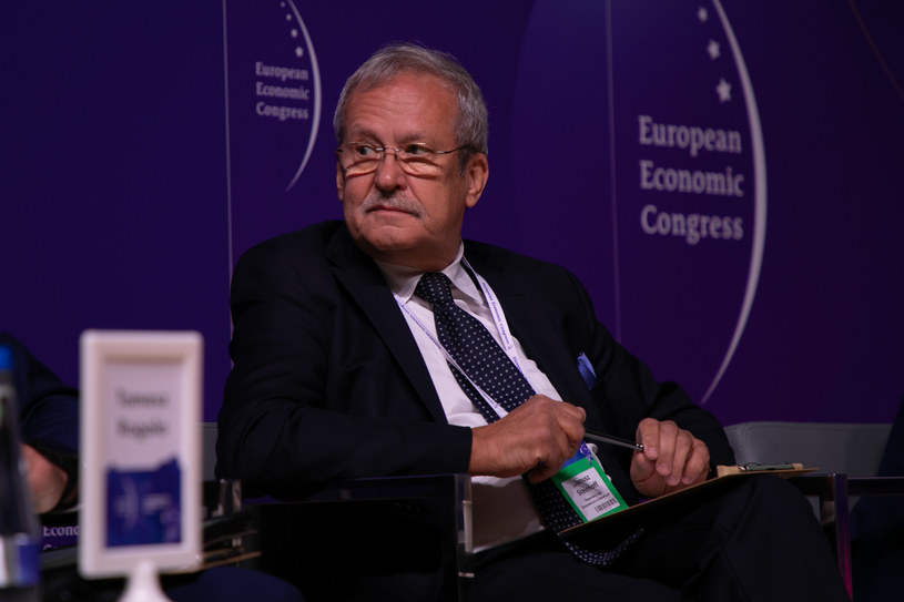 Janusz Steinhoff, szef Regionalnej Izby Gospodarczej w Katowicach, /Fot. Ireneusz Rek /INTERIA.PL
