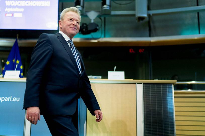 Janusz Wojciechowski 1 grudnia obejmie oficjalnie tekę unijnego komisarza ds. rolnictwa /KENZO TRIBOUILLARD/AFP /East News