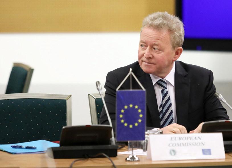 Janusz Wojciechowski, komisarz UE ds. rolnictwa. /Piotr Malecki /East News