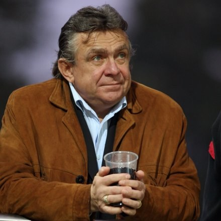 Janusz Wójcik zasępiony. Fot. Piotr Kucza. /Agencja Przegląd Sportowy