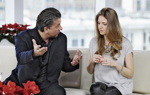 Janusz z córką /- /East News
