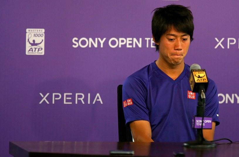 Japończyk Kei Nishikori /AFP