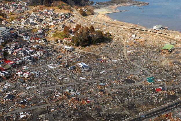 Japonia: Obraz zniszczeń /AFP