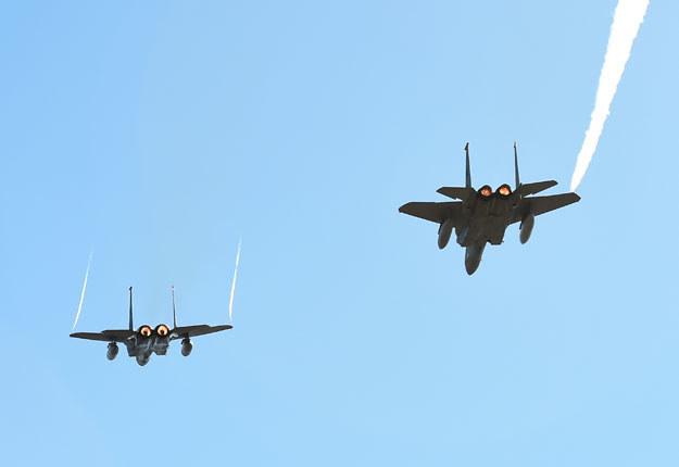 Japonia podwoiła liczbę myśliwców F-15 na wyspie Okinawa (zdjęcie ilustracyjne) /AFP