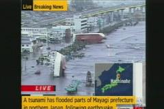 Japonia: Potężne tsunami
