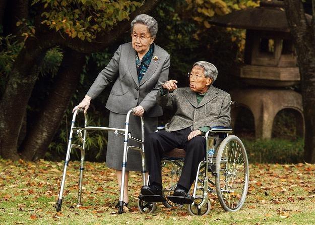 Japonia to trzeci najbardziej wiekowy kraj świata po Monako i Niemczech /AFP