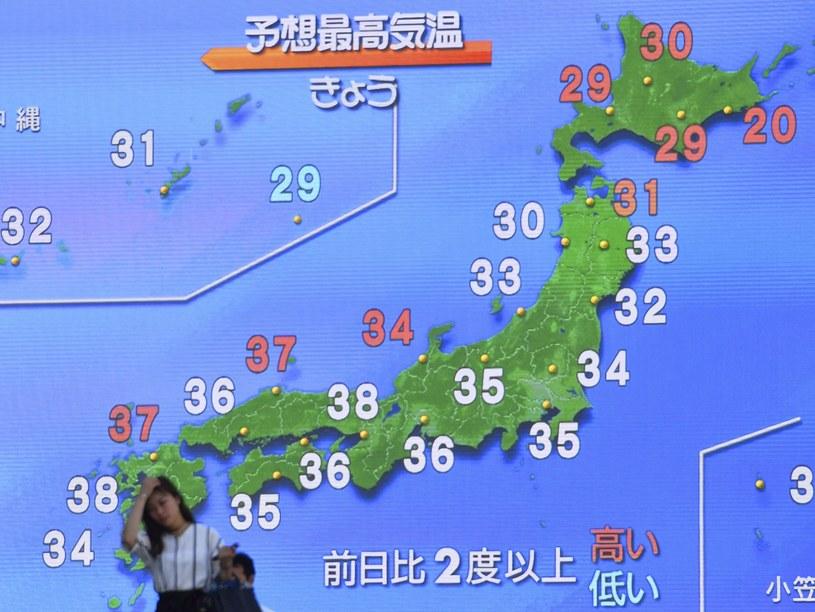 Japonia zmaga się z upałami /Yomiuri Shimbun/AP /East News