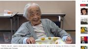 Japonia: Zmarła najstarsza osoba na świecie Chiyo Miyako