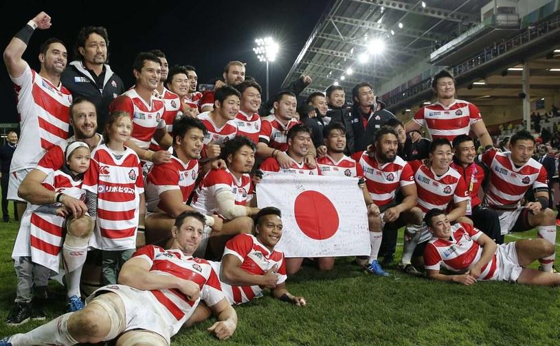 Japońscy rugbiści /AFP