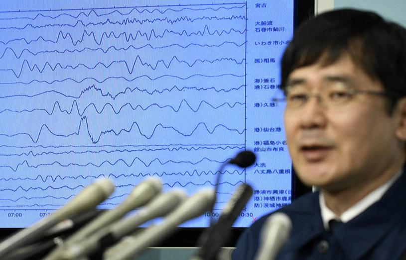 Japońska Agencja Meteorologiczna wezwała mieszkańców rejonów przybrzeżnych do ewakuacji w głąb lądu /FRANCK ROBICHON /PAP/EPA
