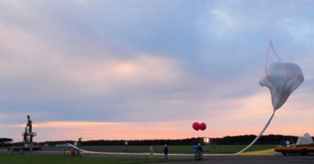 Japoński balon stratosferyczny wzniósł się na rekordową wysokość /materiały prasowe