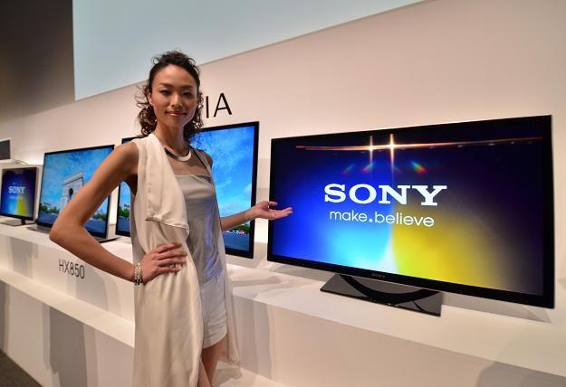 Japoński gigant elektroniki użytkowej Sony Corp. zwolni 10 000 osób. Telewizory nie idą... /AFP