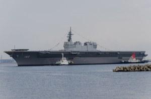"""Japoński """"lotniskowiec"""" Izumo będzie gotowy w 2015 r."""