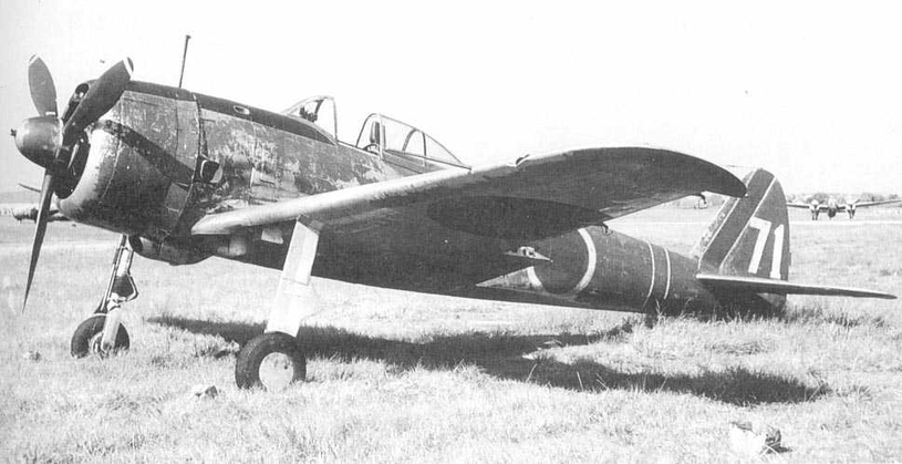 Japoński myśliwiec Ki-43 Hayabusa z 5 Sentai, stacjonującej w Hankow /Domena publiczna /INTERIA.PL/materiały prasowe