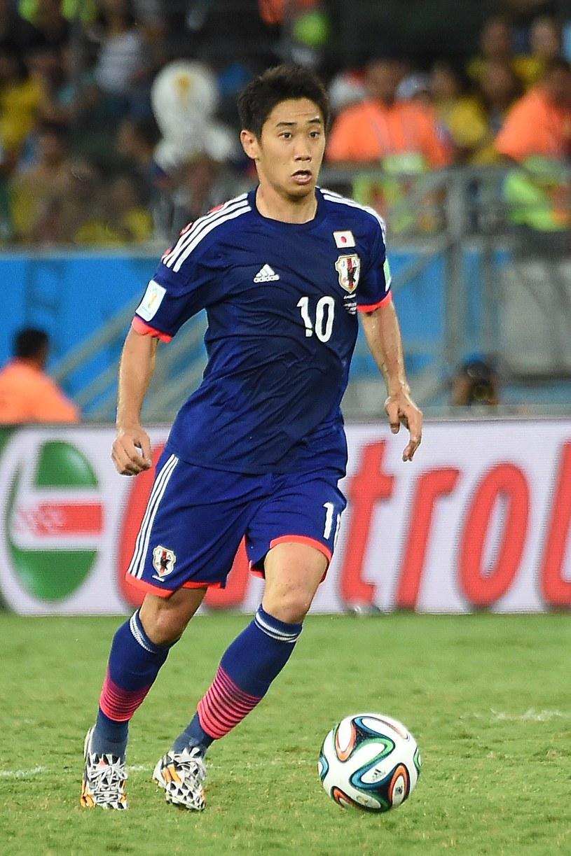 Japoński piłkarz Shinji Kagawa /AFP