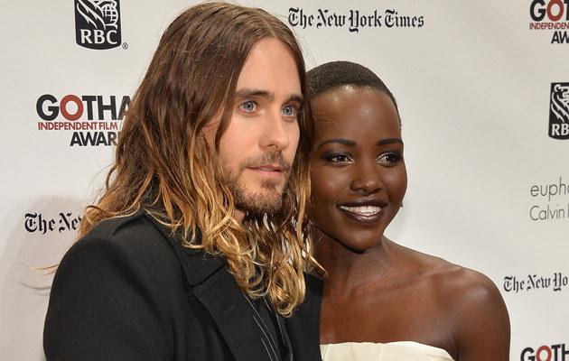Jared Leto i Lupita Nyong'o /Theo Wargo /Getty Images