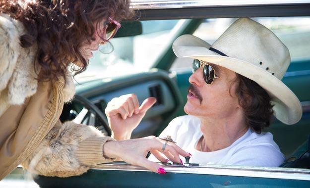 """Jared Leto i Matthew McConaughey w filmie """"Witaj w klubie"""" /materiały prasowe"""