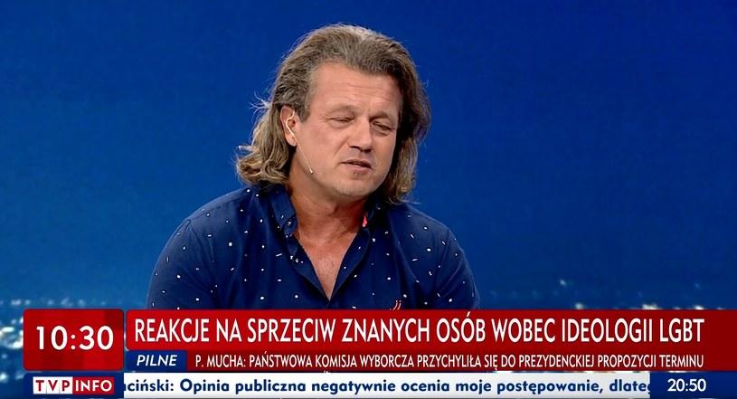 Jarek Jakimowicz w TVP /