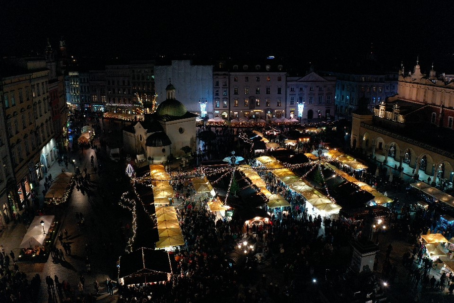 Jarmark bożonarodzeniowy, Kraków /Jacek Skóra /RMF FM