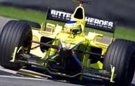 Jarno Trulli został zdyskwalifikowany w Grand Prix USA.